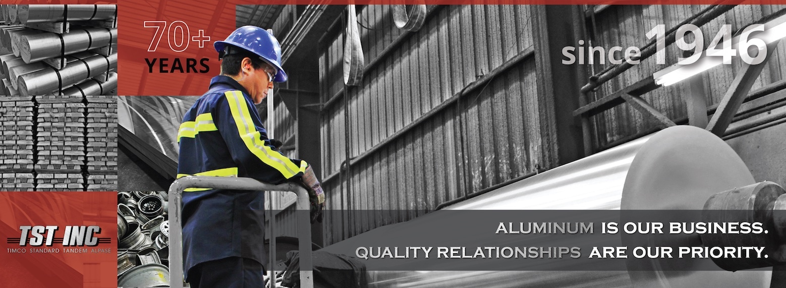 Aluminum is our business, quality relationships are our priority